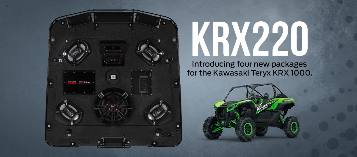 Introducing four new packages for the Kawasaki Teryx KRX 1000.