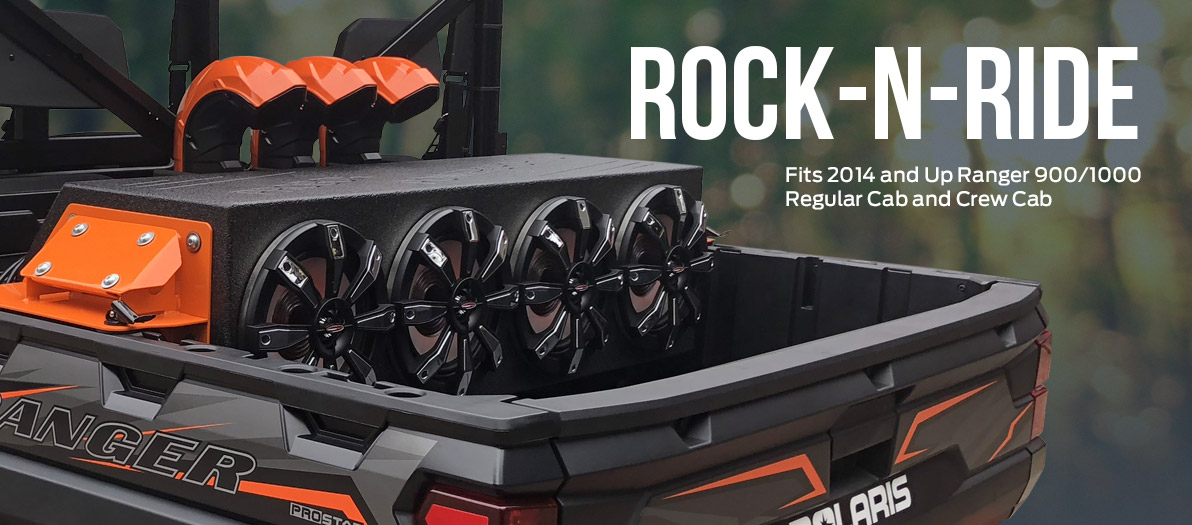 ROCK-N-RIDE for Polaris Ranger