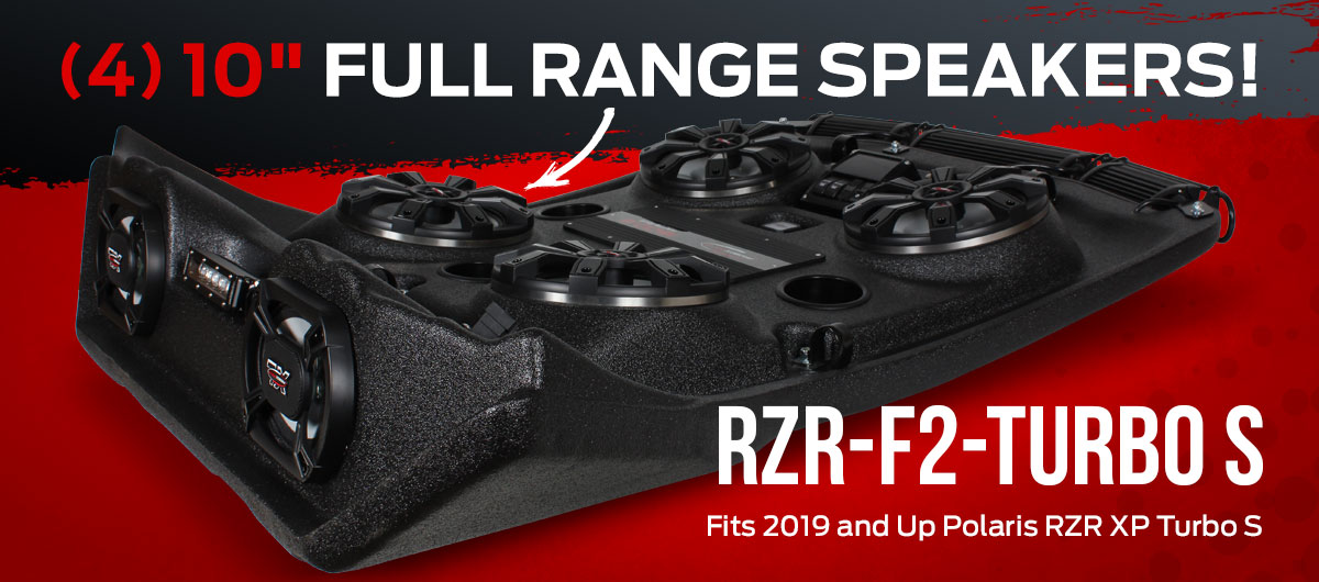NEW RZR-F2-TURBO S for 2019 and Up Polaris RZR XP Turbo S