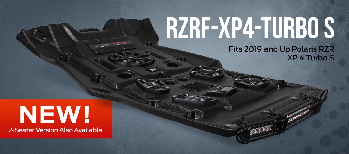 NEW RZRF-XP4-TURBO S for 2019 and Up Polaris RZR XP 4 Turbo S