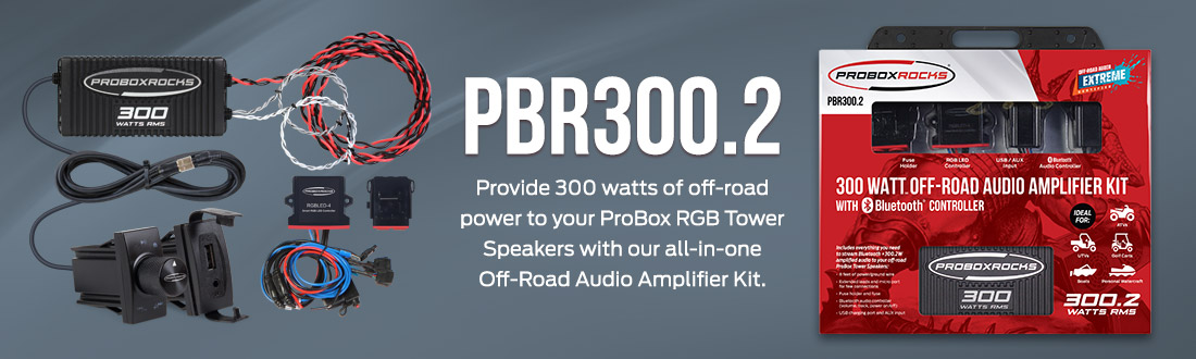 PBR300 Off-Road Audio Amplifier Kit